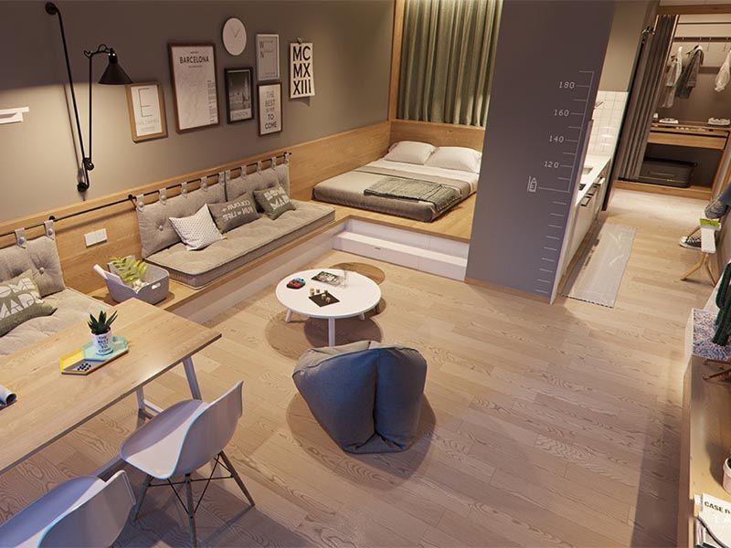 Xu hướng nội thất không gian mở
